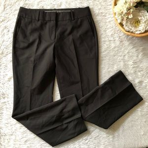 Ann Taylor Black Straight Trouser